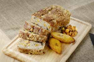 MIC Food Sweet Plantain sponge cake banana bread