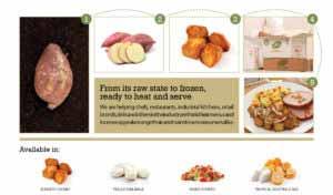 mic food tropical vegetables boniato fresh to frozen