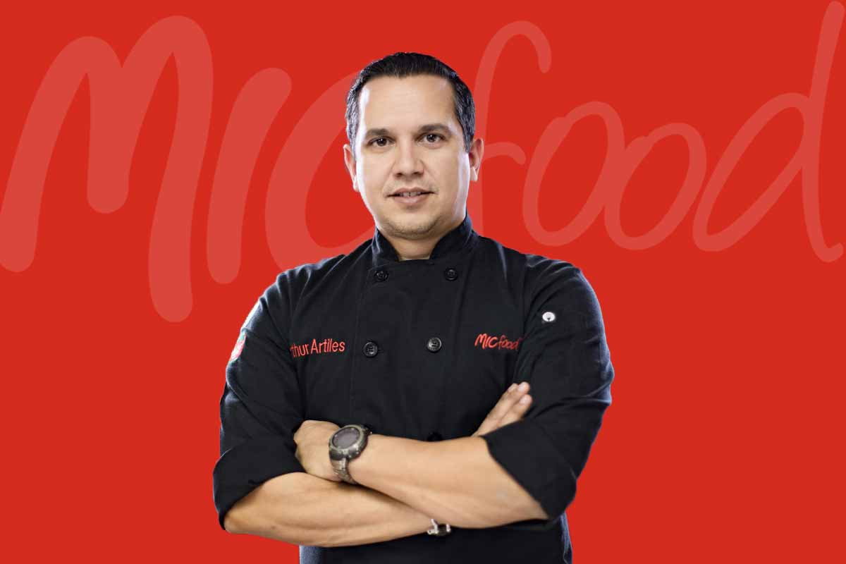 MIC Food Chef Arthur Artiles